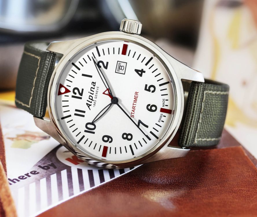 TimeZone Industry News N E W M O D E L S Alpina Startimer - Alpina watch review
