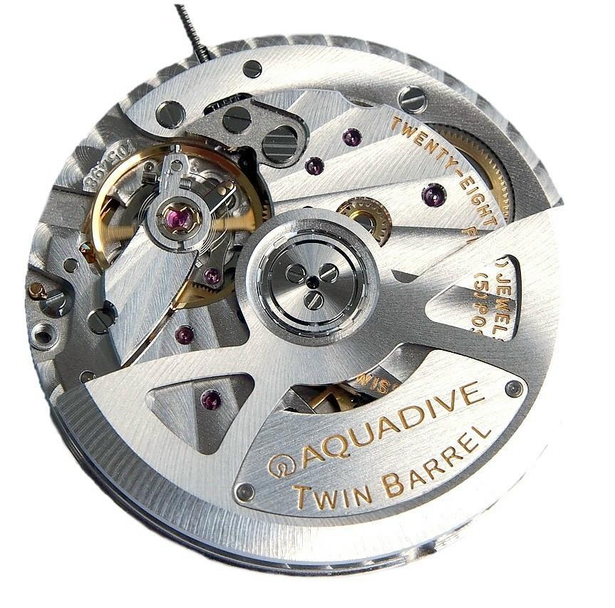 News :  Aquadive Bathysphere 500 Fleurier Twin Barrel Aquadive2