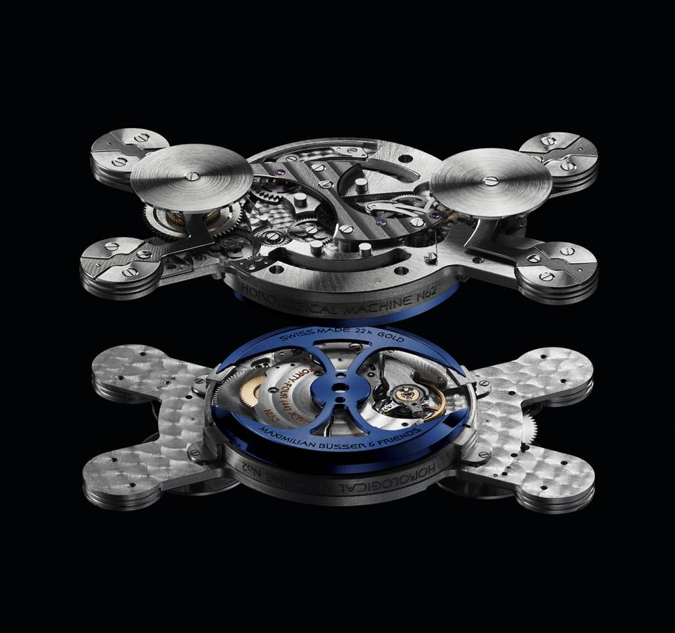 MB&F and Alain Silberstein – Horological Machine No. 2 Asmbf2
