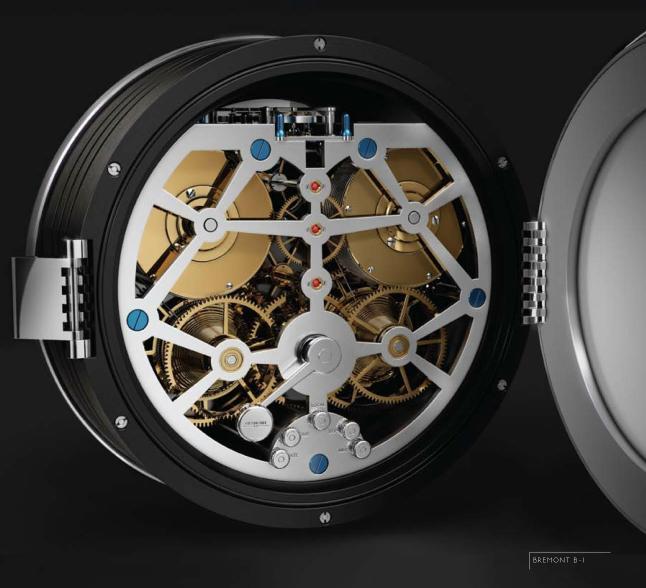 News - Bremont B-1 Marine Clock B1clock2