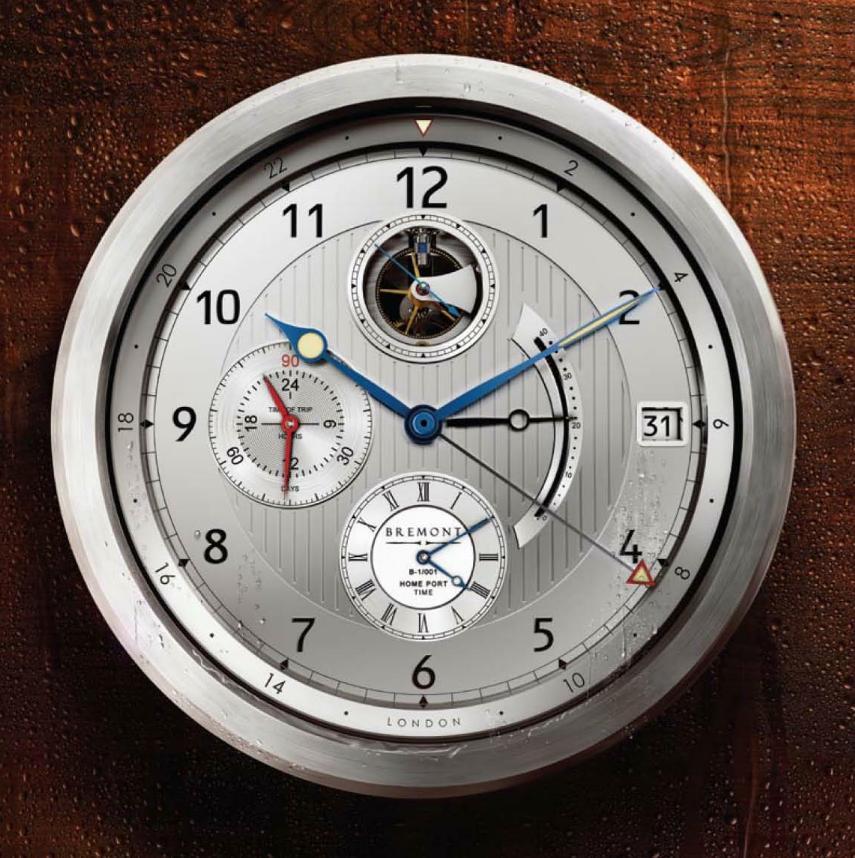 News - Bremont B-1 Marine Clock B1clock3