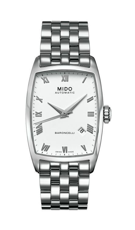 Mido - News : Mido Baroncelli Tonneau Automatic Baron1