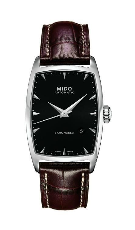 Mido - News : Mido Baroncelli Tonneau Automatic Baron2