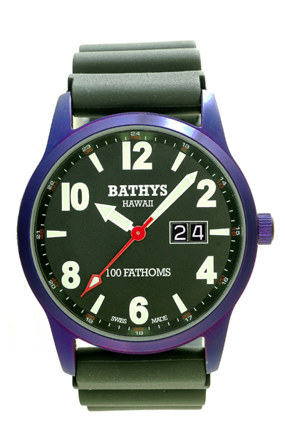 Bathys Hawaii Watch Company Bathys