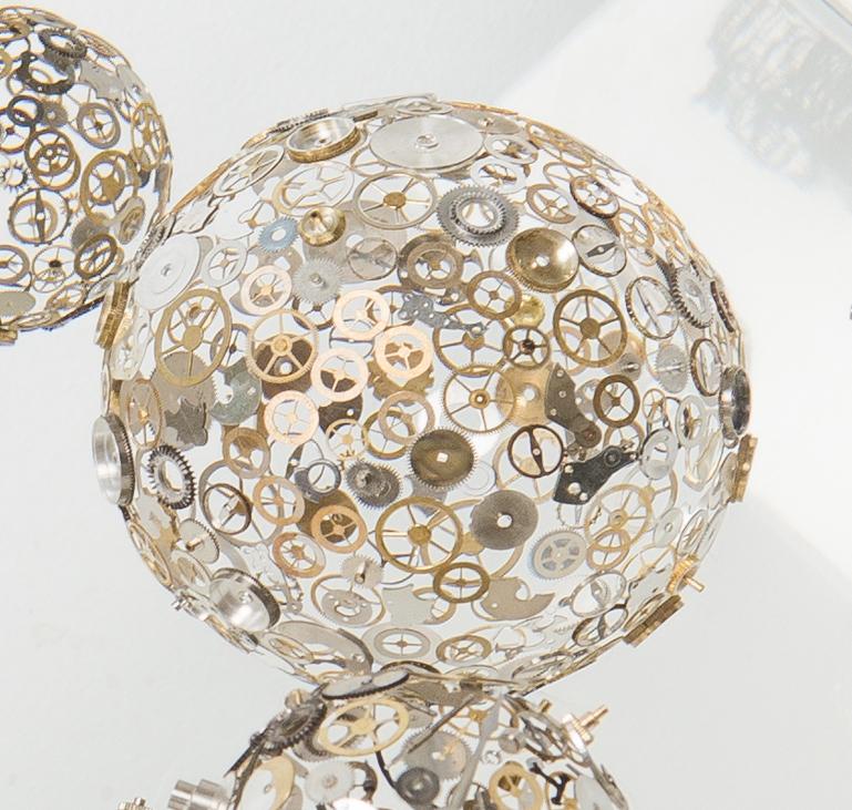 Berd Vay'e, Berd Vay'e watch sculpture, Berd Vay'e timepiece sculpture, Berd Vay'e Galaxy Sculpture