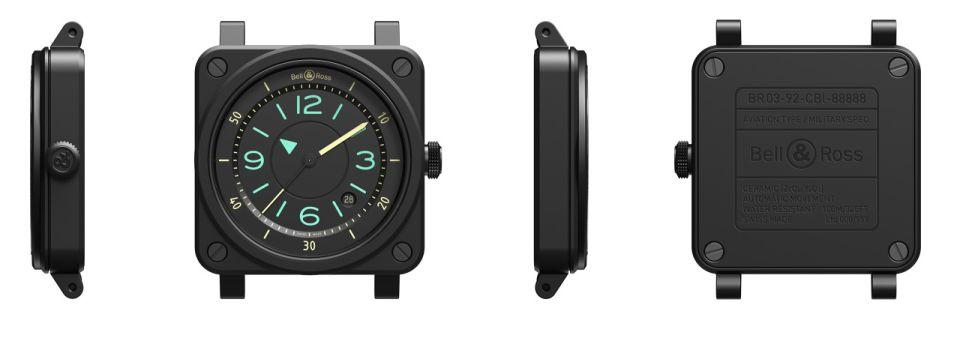 Bell & Ross BR 03-92 Bi-Compass, BR 03-92 Bi-Compass, BR03-92