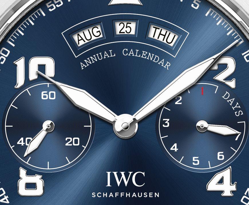 TimeZone   Industry News » N E W M o d e l - IWC Big Pilot s Watch Annual  Calendar Edition