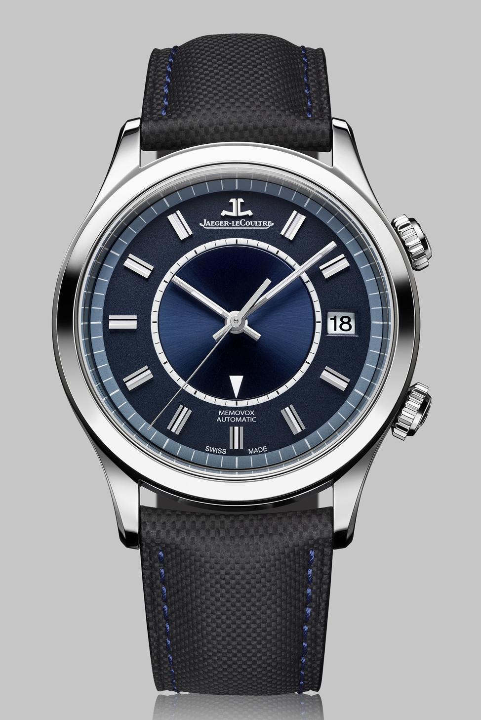 Jaeger - News : Jaeger-LeCoultre Master Memovox Blue Édition Boutique Bluememo4