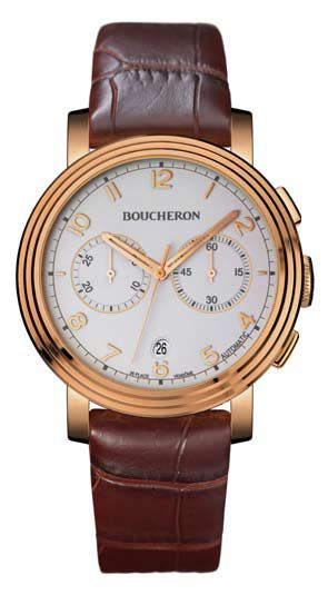 News : Boucheron Ronde  Chrono Automatique Bouronde1
