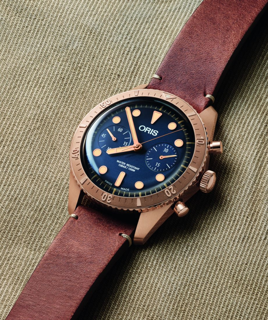 Oris's new Carl Brashear Chronograph Brasher1