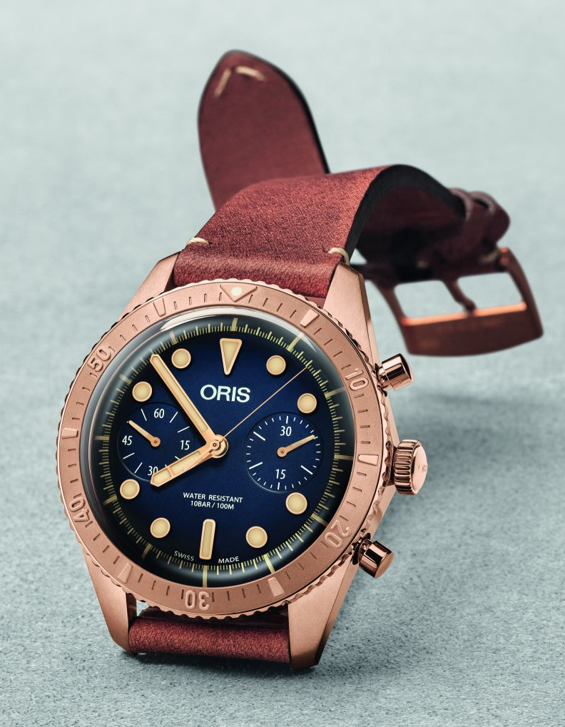 Oris's new Carl Brashear Chronograph Brasher2
