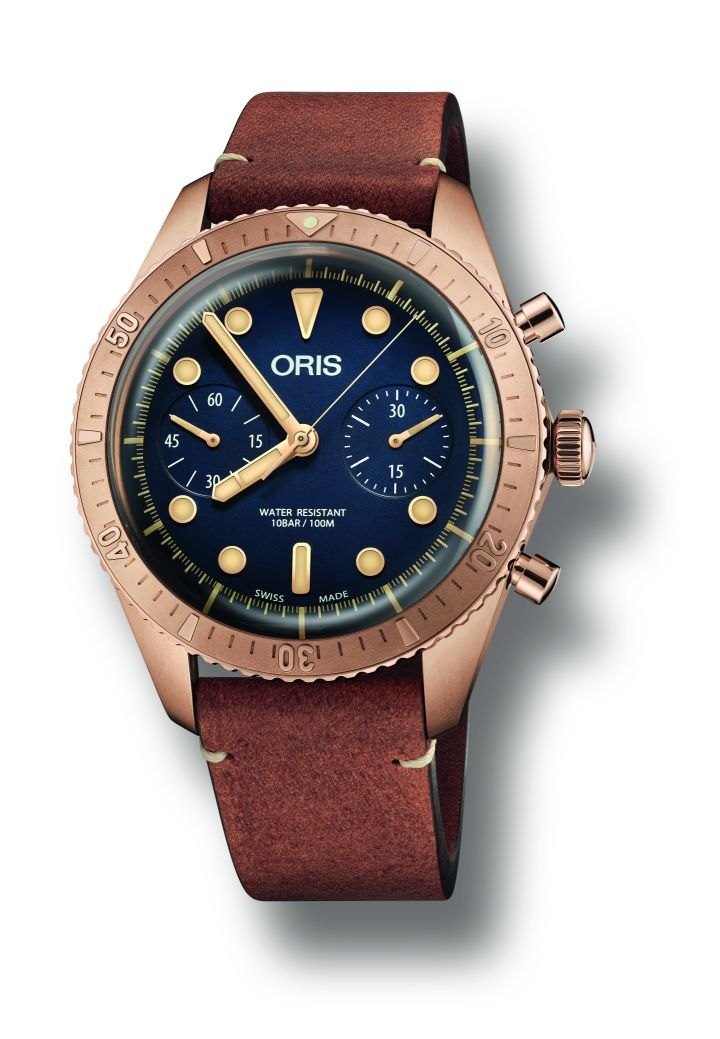 Oris's new Carl Brashear Chronograph Brasher5