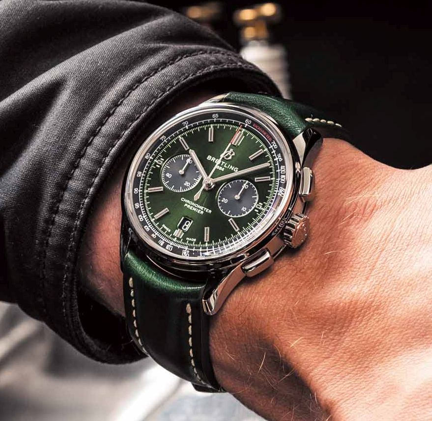 Breitling Premier B01, Breitling Premier B01 Chrono 42 Bentley British Racing Green