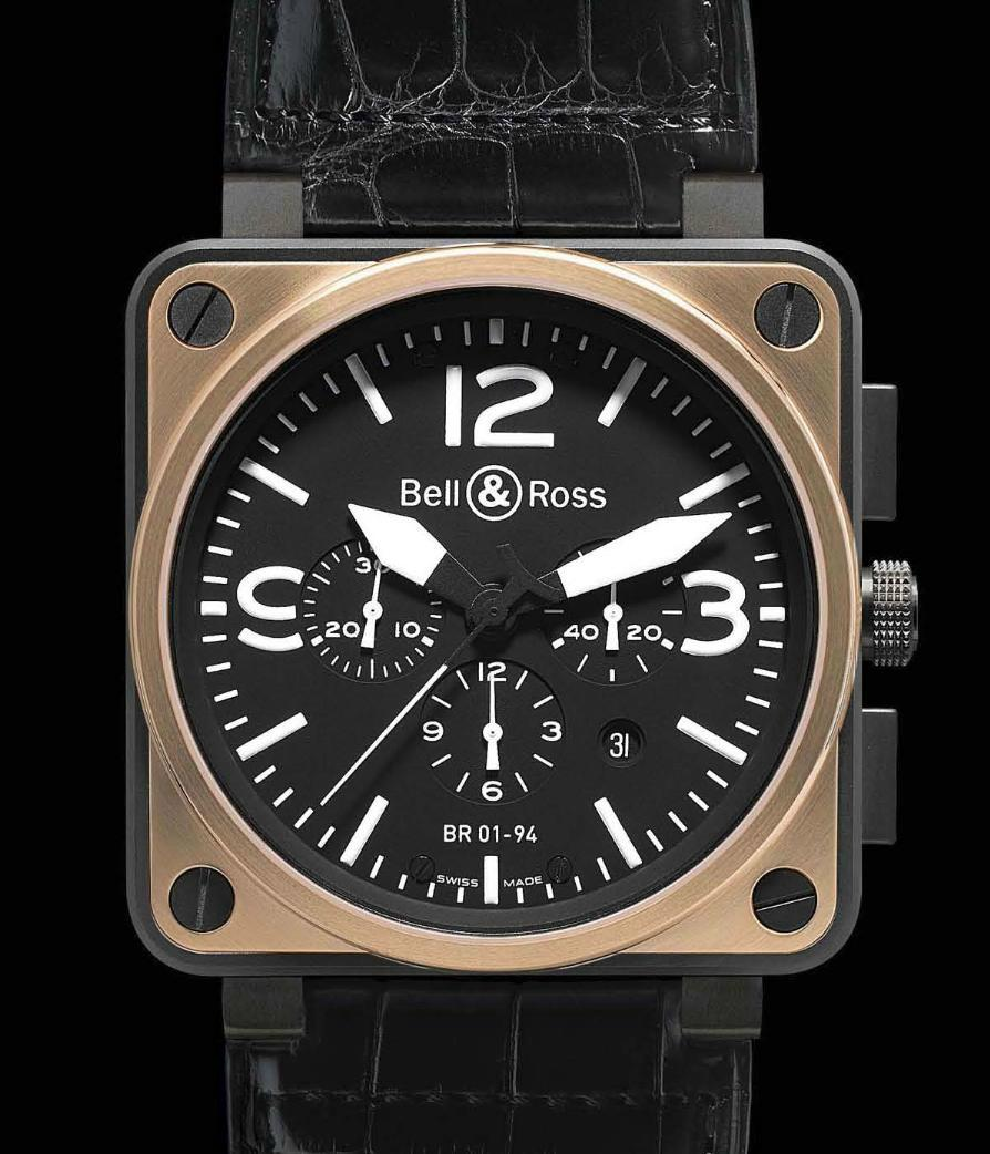Une Bell & Ross sublime Carbon1