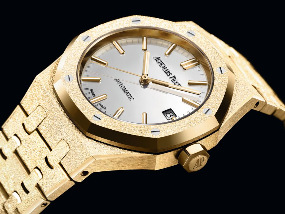 Audemars Piguet Royal Oak Frosted Gold Carolina Bucci Edition