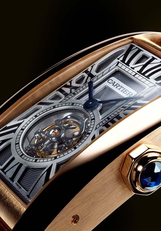 Cartier Tank Americaine Tourbillon Volant