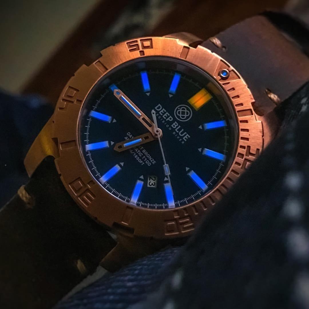 Deep Blue's new Daynight Tritium Bronze Divers Dbronze1