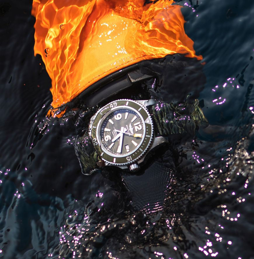 Breitling SuperOcean 44 Outerknown, Breitling Kelly Slater, Breitling Outerknown, Kelly Slater Outerknown, Outerknown, Superocean Automatic 44