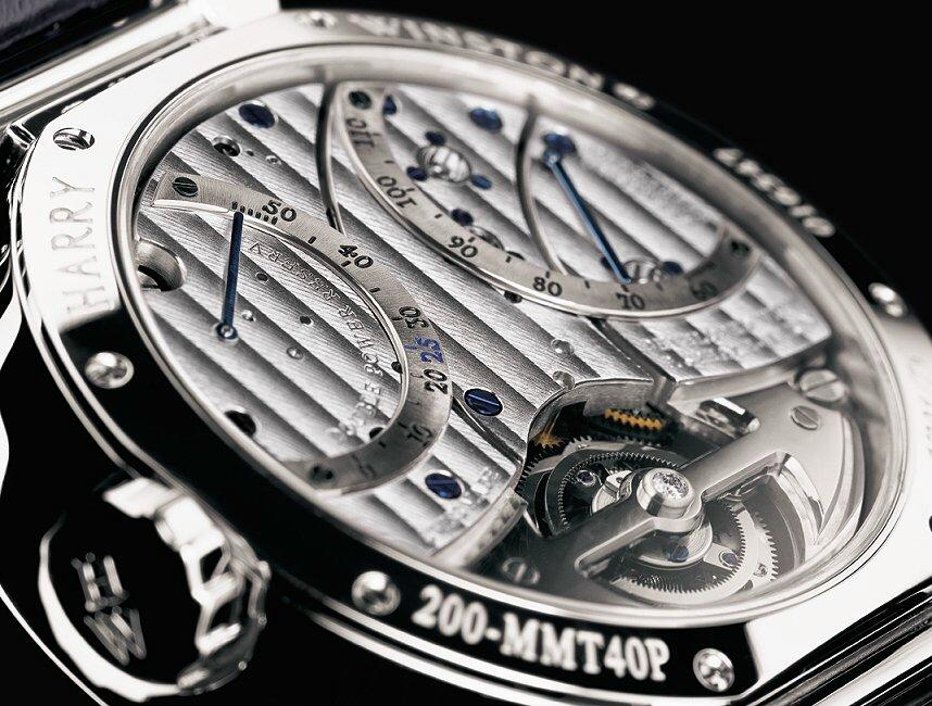 Harry Winston ouvre sa manufacture Ex2