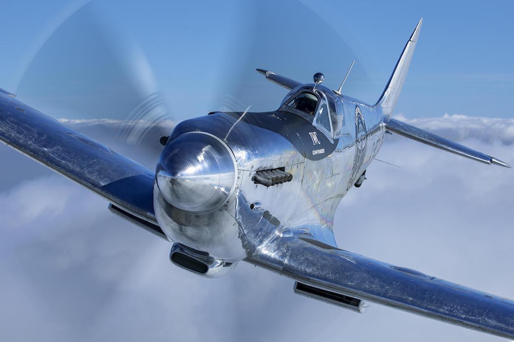 IWC Silver Spitfire, IWC Boultbee Flight Academy, IWC Boultbee Flight Silver Spitfire Restoration, IWC Silver Spitfire restoration