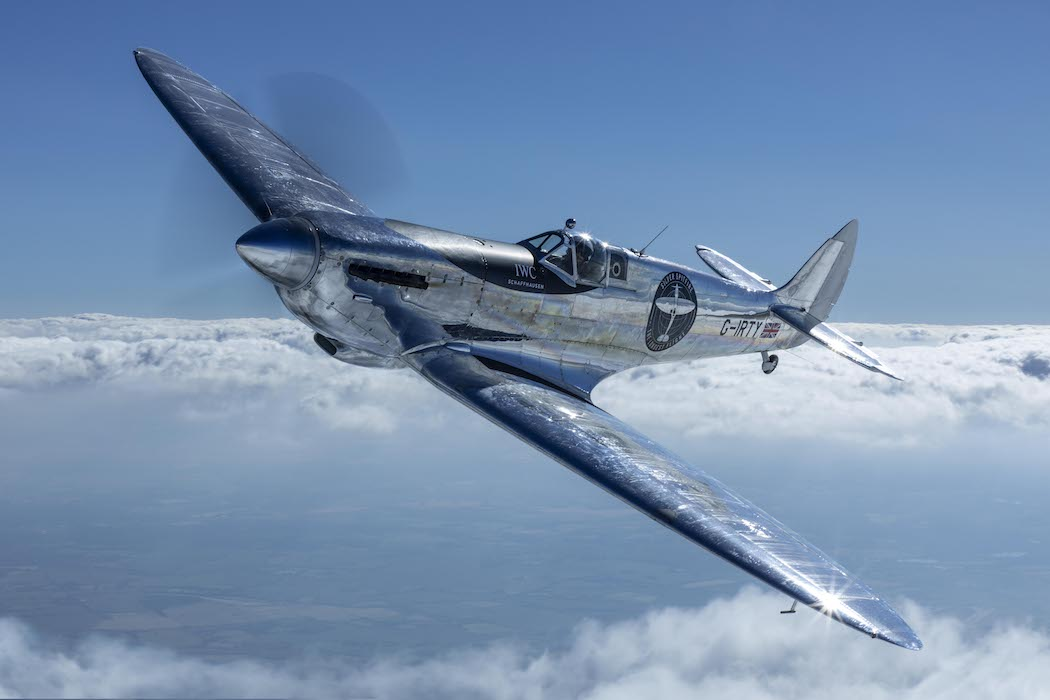 TimeZone : IWC » INDUSTRY NEWS - IWC Silver Spitfire Restoration