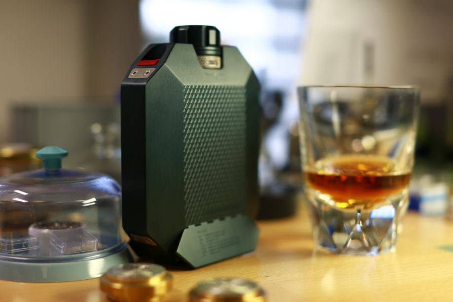 Macallan X URWERK Flask, Urwerk Flask, Macallan flask