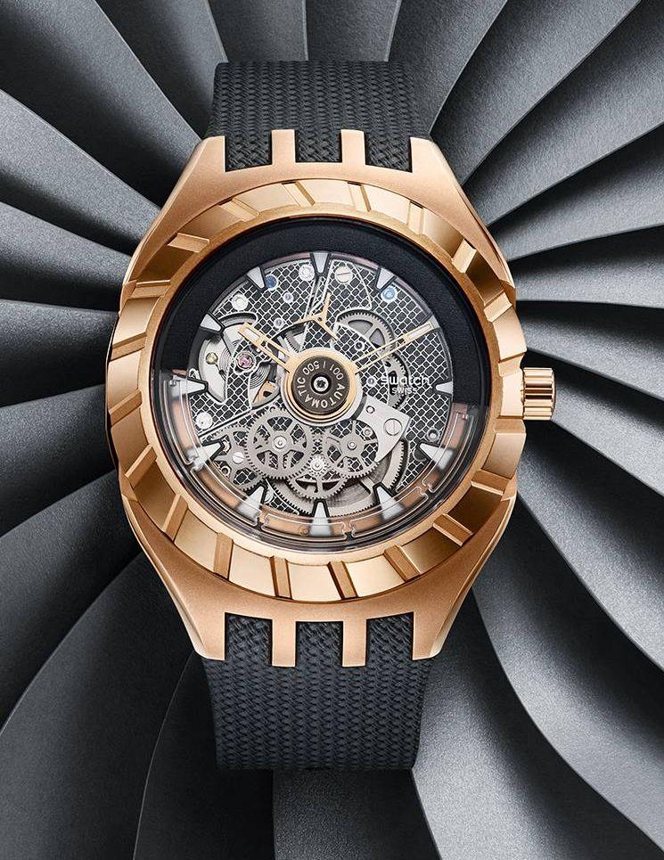 Swatch Flymagic Automatic, Flymagic, Nivachron balance spring, Nivachron, Swatch Sistem 51, Sistem 51