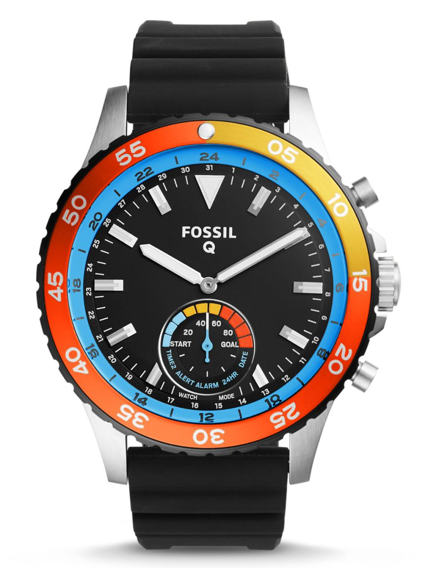 Fossil's new Q Crewmaster Smartwatch Fossilq1