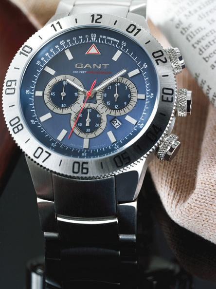 Storbritannien tillgänglighet tankar på största rabatt TimeZone : Basel/SIHH 2007 » N E W M o d e l s – Gant Time ...