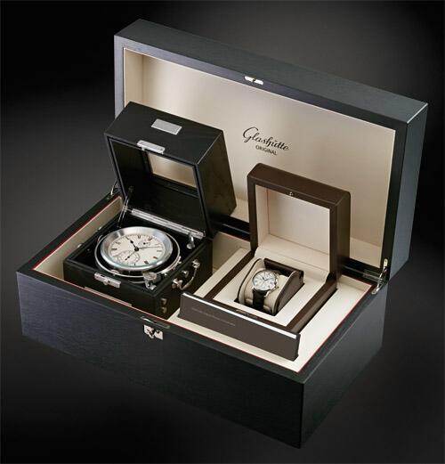 News : Glashütte Original Chronomètre de Marine et Senator Chronometer Gocontrola
