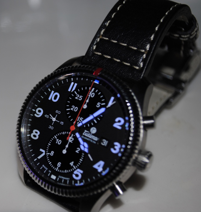 Timezone Watch Reviews 187 A Review Tutima Grand Flieger