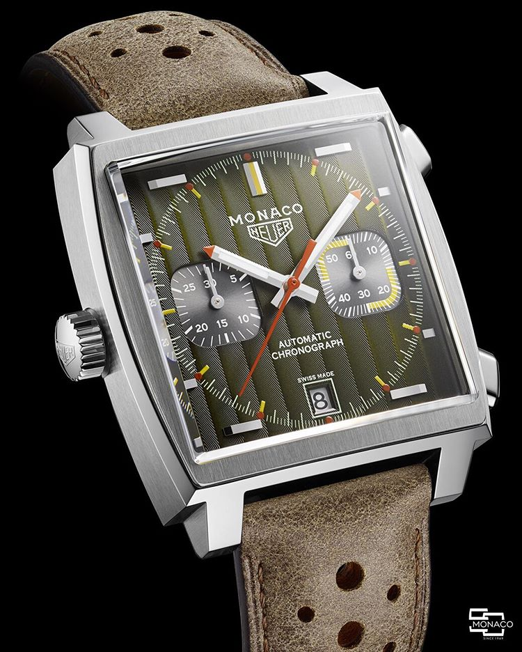 TAG Heuer Monaco 50th, Monaco Chronograph 50 TAG Heuer Monaco Through Time 1969-1979
