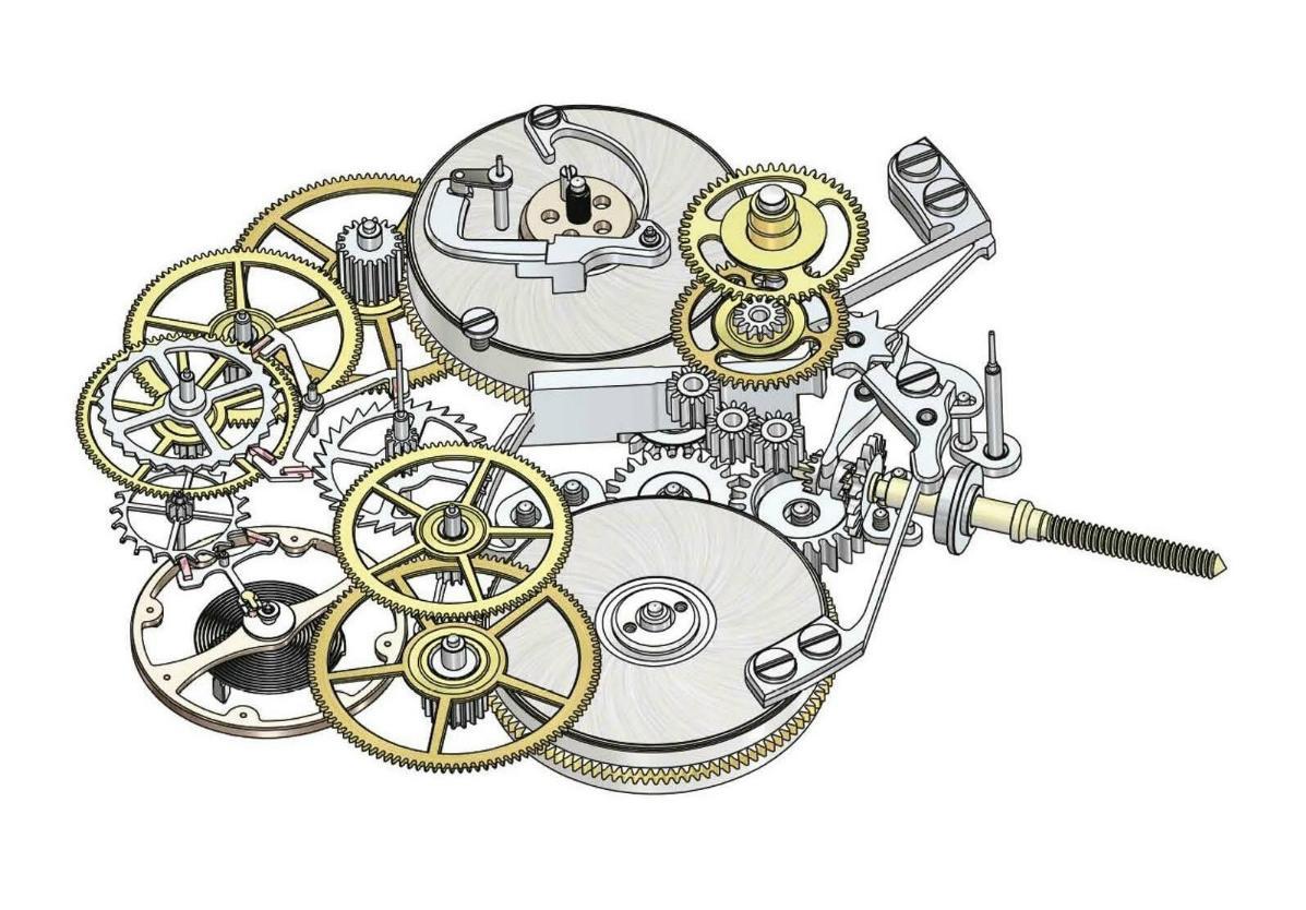 Изготовление механизма часов своими руками 68