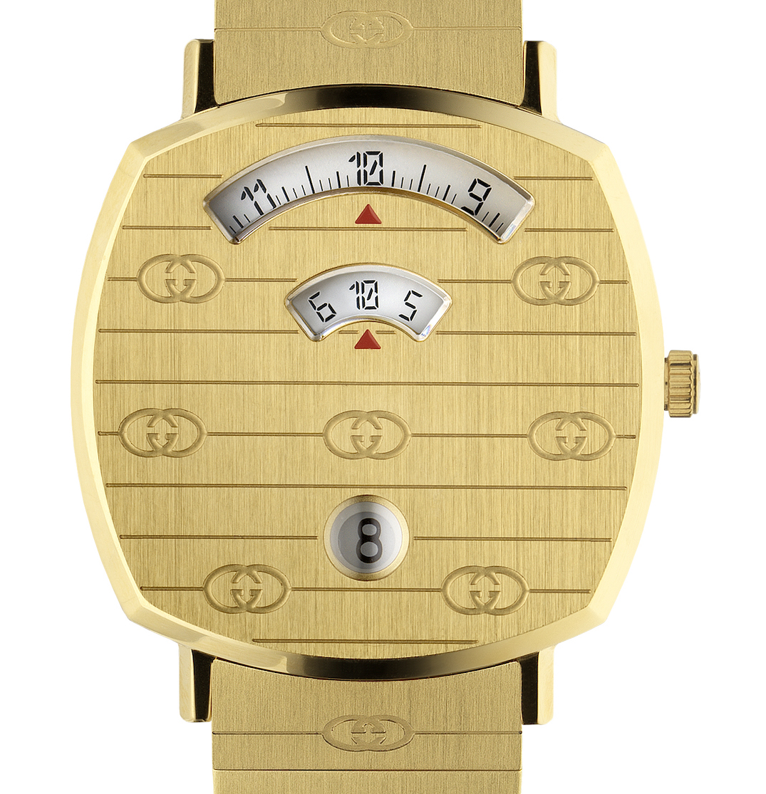 cfc3e633f9d Gucci is introducing a brand-new unisex watch line called Grip.