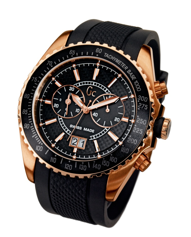 Guess Black Rose Gold Watch Hd Image Flower And Rose