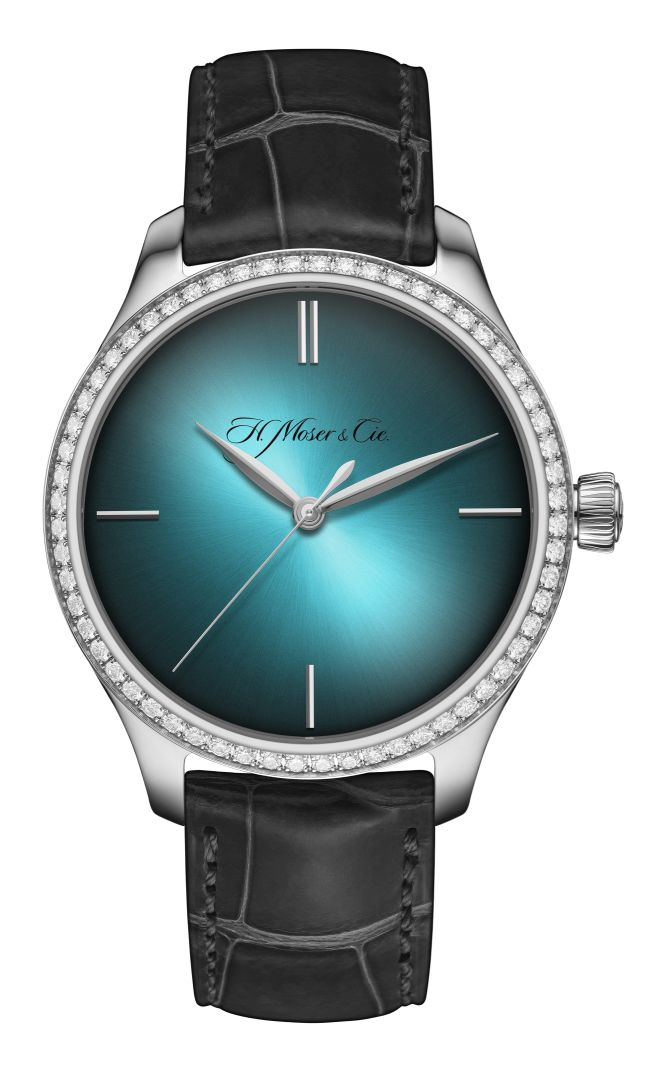 Moser Endeavour Center Seconds Diamonds Purity, Lady Moser, Moser ladies