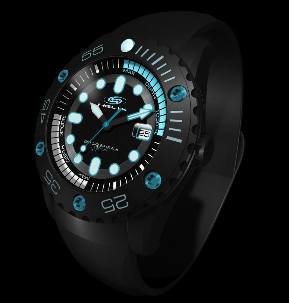 News : Helix Okto Deep Black 1 000 Mètres Helixdeep1