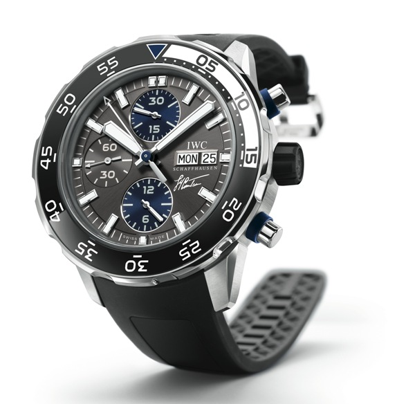 часы IWC IWC Aquatimer Chronograph Edition Jacques-Yves Cousteau.