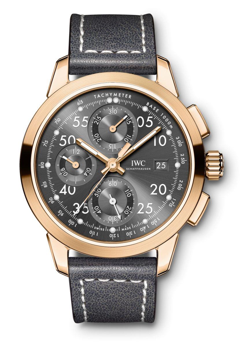 IWC Ingenieur Chronograph Tribute to Nico Rosberg, Chronograph Nico Rosberg