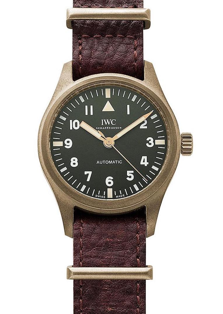 IWC's new Special Edition Bronze Pilot 36mm  Iwcrake4