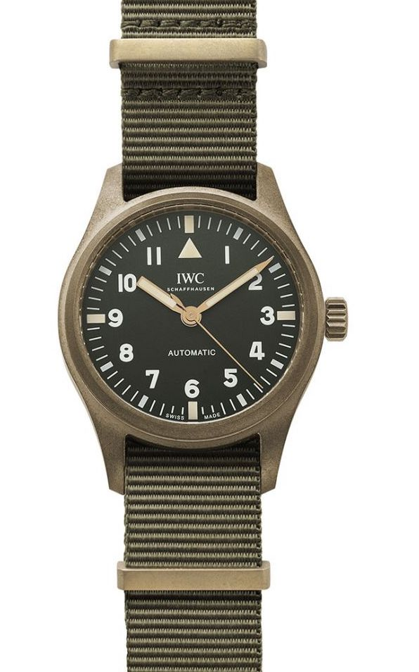 IWC's new Special Edition Bronze Pilot 36mm  Iwcrake7