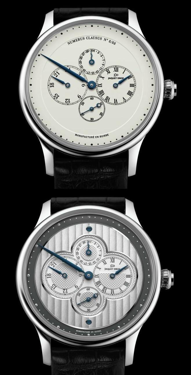 Jaquet Droz : Les Longitudes Regulator Collection Jbgmt