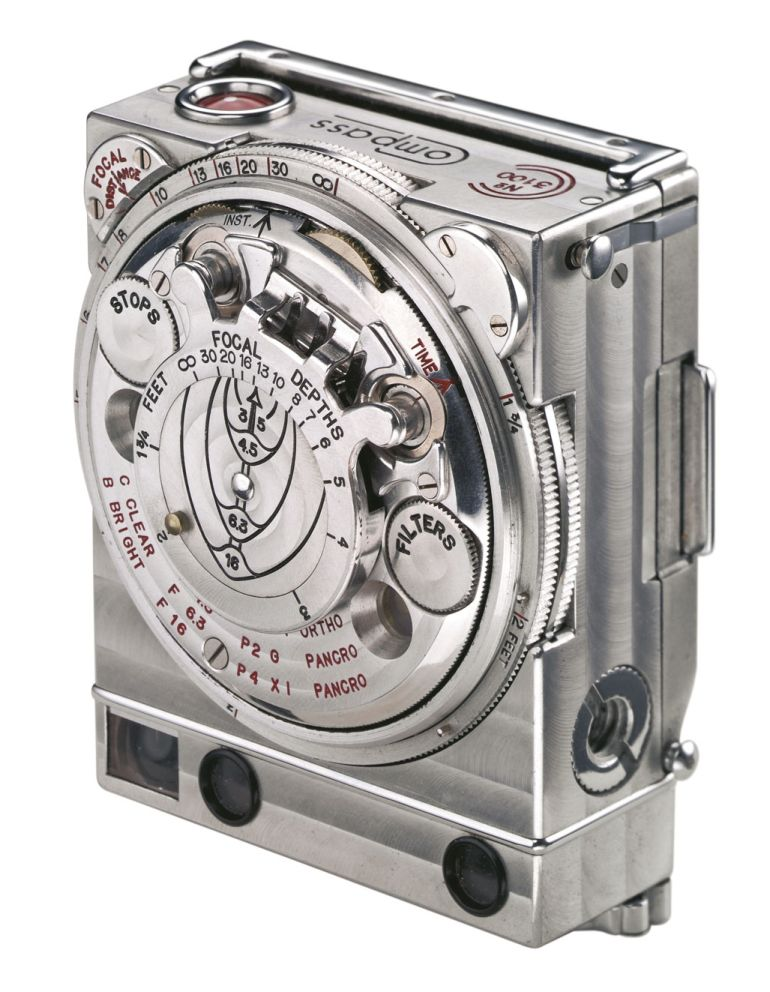 Jaeger-LeCoultre Compass, JLC Compass, LeCoultre Compass, Le Coultre Compass, Compass camera, smallest full-frame camera