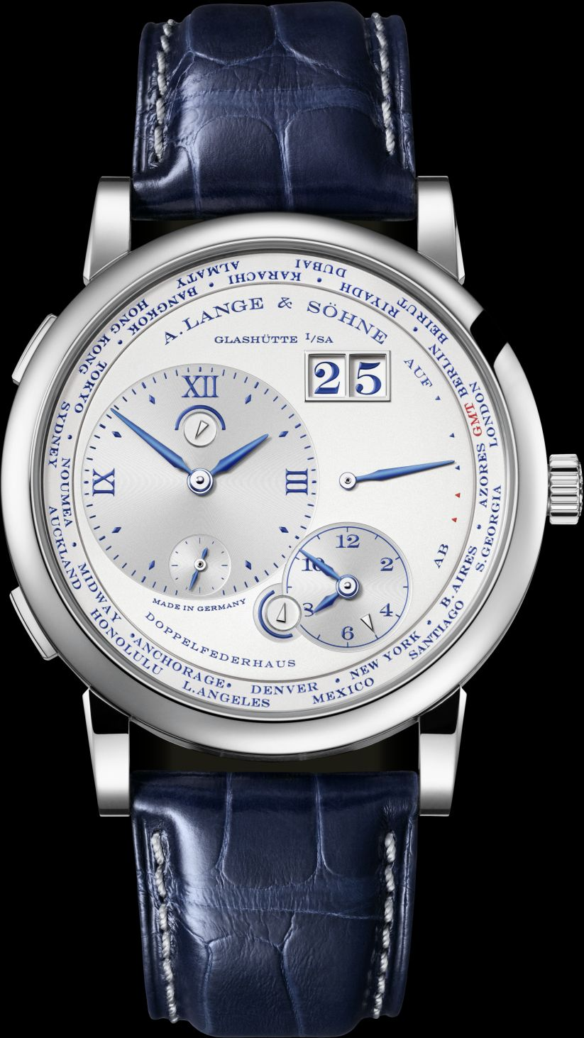 A. Lange & Söhne LANGE 1 TIMEZONE 25th Anniversary, LANGE 1 TIMEZONE 25th, LANGE 1 TIME ZONE 25th