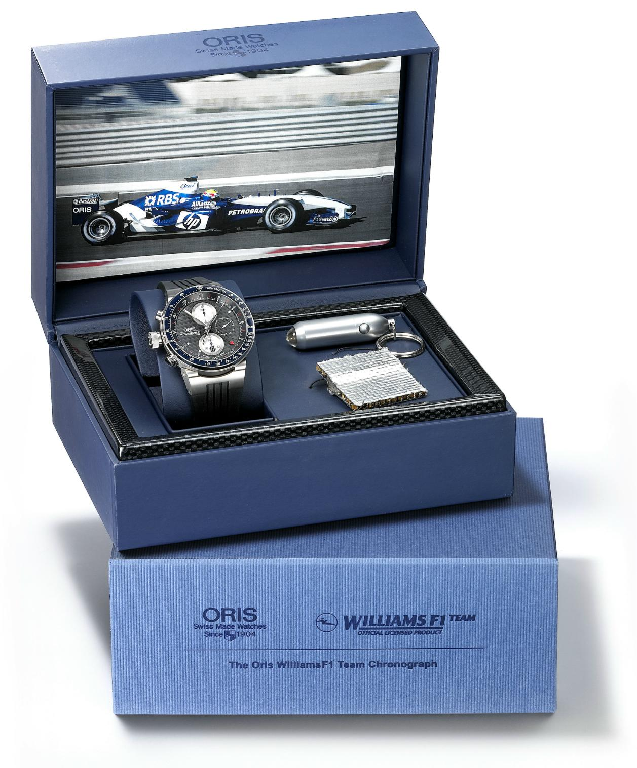 ORIS Williams F1 Team Lefty GMT Chronograph   Sep 12, 2 Leftyoris2