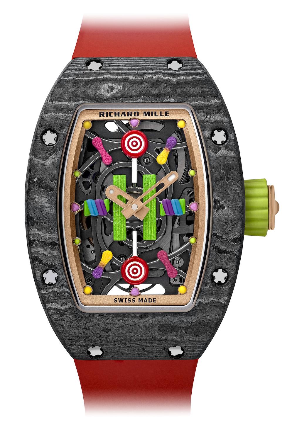 Richard Mille Bon Bon, RM 37-01 Kiwi, RM 37-01 Cerise, Richard Mille candy