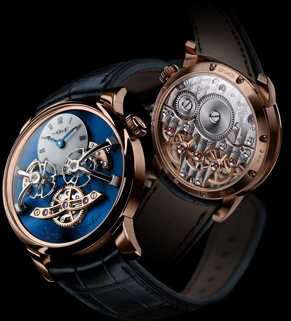 MB&F Legacy Machine 2 Red Gold Blue, LM-RG-Blue