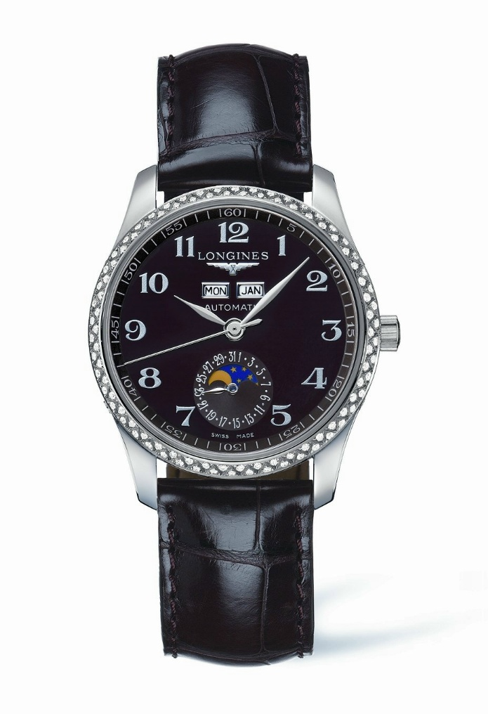 Longines Master Moonphase Lady Collection Mastercol1
