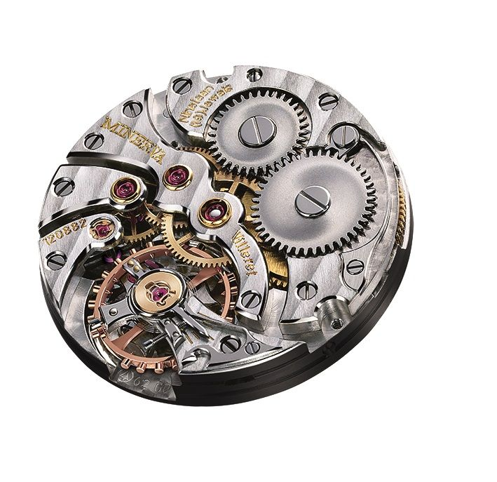 Montblanc Heritage Small Seconds LE 38, Montblanc Ref. 124781, Montblanc 124781, Montblanc Heritage Small Seconds