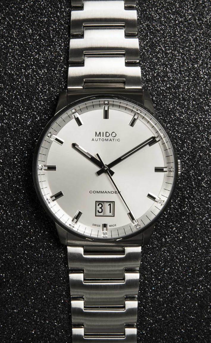 659d224319c TimeZone   Industry News » N E W M o d e l - Mido Commander Big Date